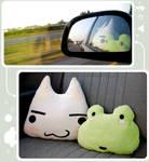 kitty + frog
