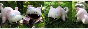 wild slowpoke by onifrogbox