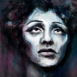 Edith Piaf by janaalus