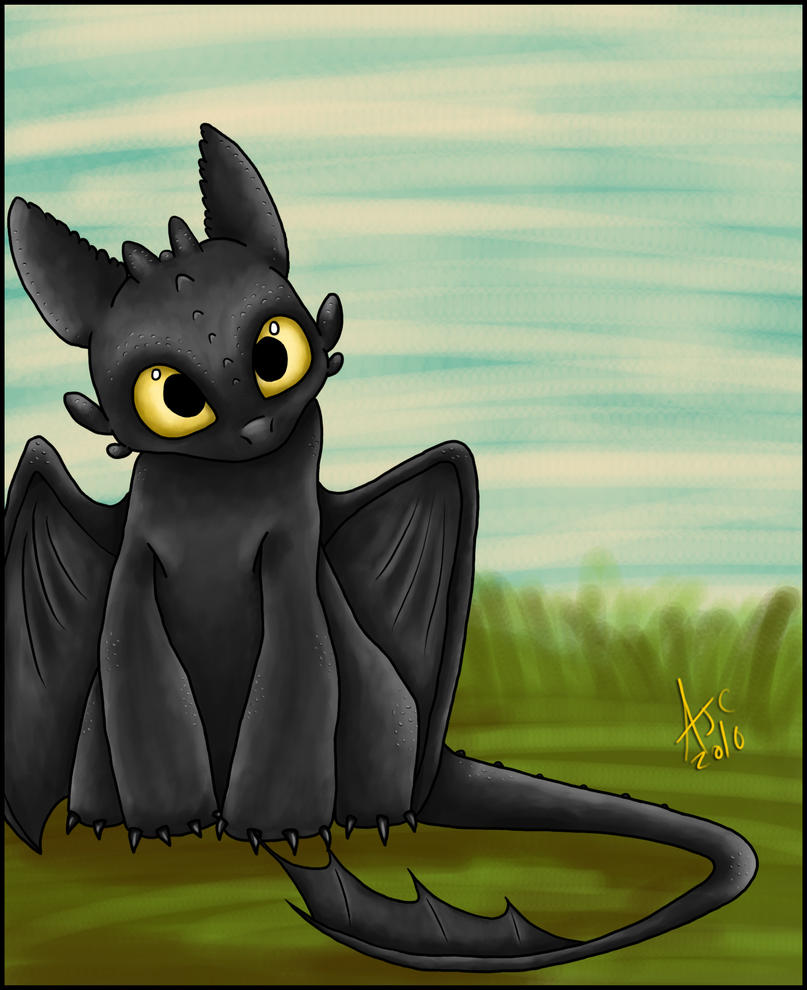 Toothless Wallpaper: Toothless By Dragowl On DeviantArt