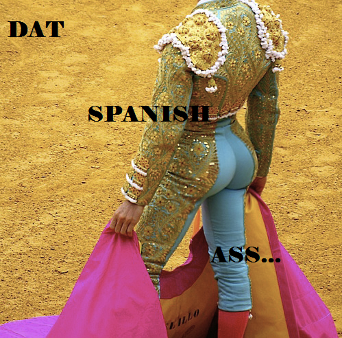 Spanish ass pics