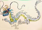 The Giant Sea Dragon by masonmdaythetrex