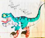 Rex the Mighty Tyrannosaurus Rex