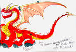 Fire Dragon by masonmdaythetrex