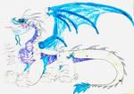 Ice Dragon by masonmdaythetrex