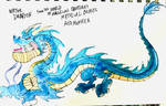 Water Dragon by masonmdaythetrex