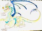 Electric Dragon by masonmdaythetrex