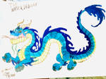The Water Dragon by masonmdaythetrex