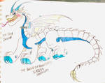 The Snow Dragon by masonmdaythetrex