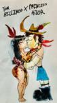Tom Billings X Princess Ajor by masonmdaythetrex
