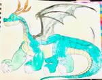 Tohru Giant Dragon Form by masonmdaythetrex