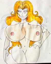 Rangiku Matsumoto Sexy Nude by masonmdaythetrex