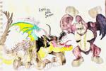 Kong VS Gator Dragon by masonmdaythetrex