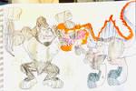 King Kong 2005 Vs Jp3 Spinosaurus by masonmdaythetrex