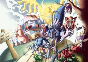 Darkstalkers Tribute by Kuma-Team
