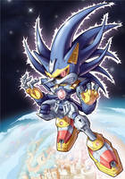 Mecha Sonic by Kuma-Team