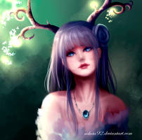 Deer Goddess by nekota92