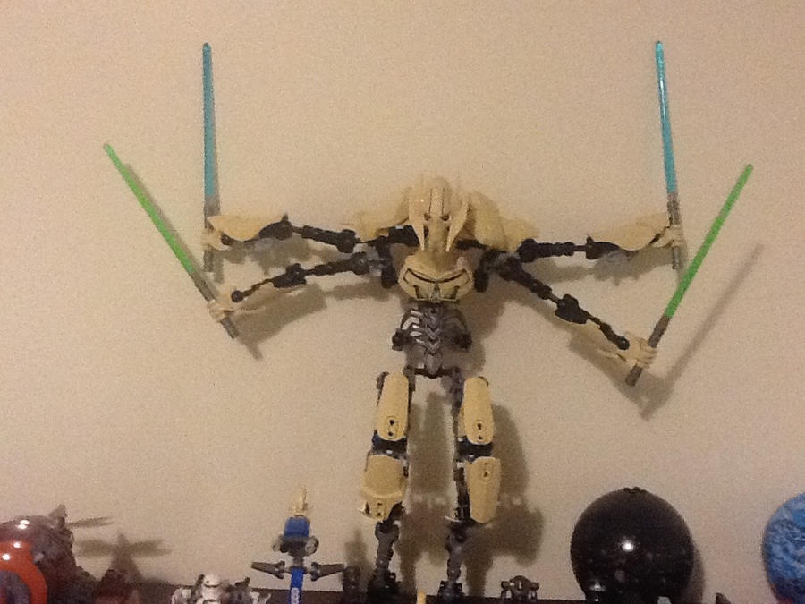 My Lego General Grievous by Hiattgrey411 on DeviantArt