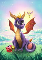 Spyro the Dragon by Zietro