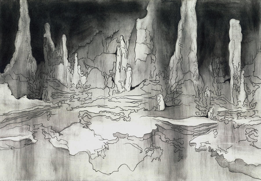Cave Drawing #1 by MaryONeill on DeviantArt