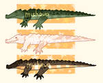 !!! 4$ ADOPT CROCODILE !!! (OPEN) by MishaW-A