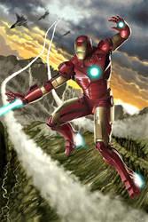 Iron Man by caiocacau