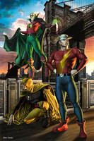 Justice Society of America by caiocacau