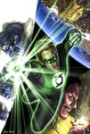 Green Lantern Sample Cover
