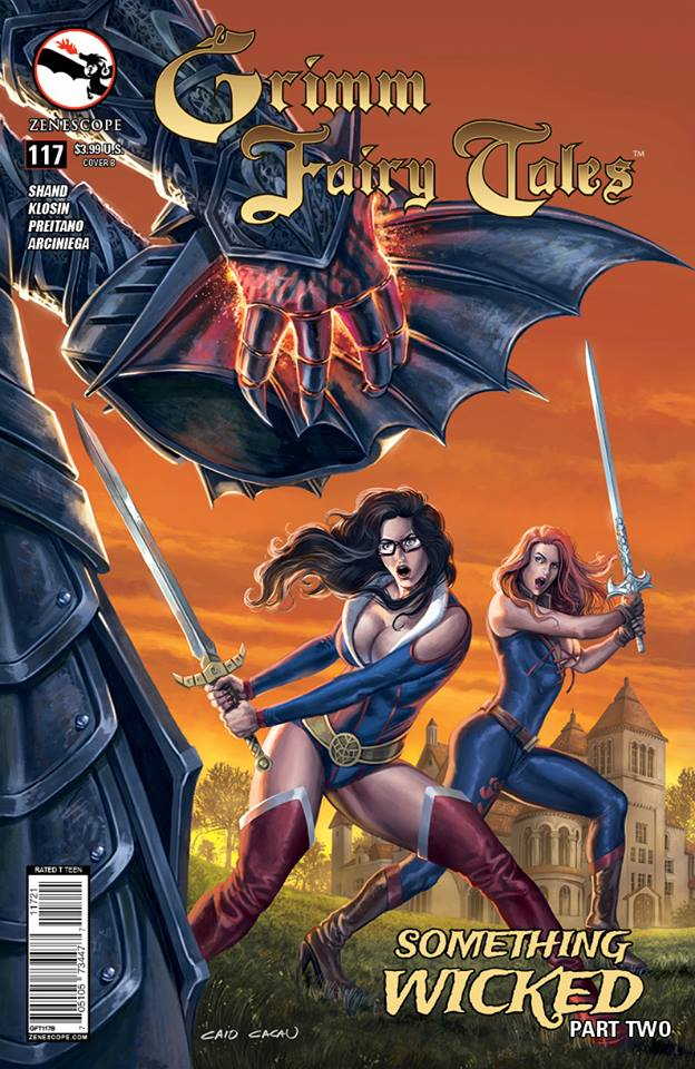 Grimm Fairy Tales #117 by caiocacau