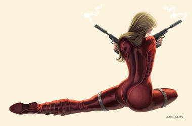 Red Agent #3 by caiocacau