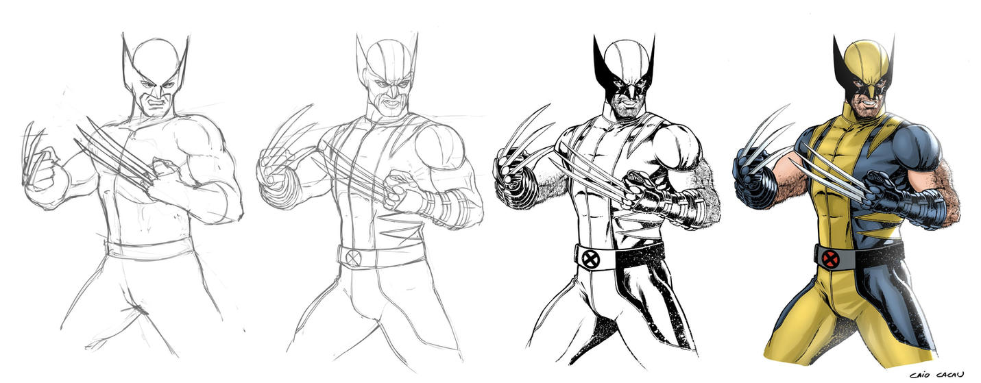 Wolverine process (Custom) by caiocacau