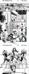 New Avengers/X-men by caiocacau