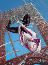 Spider-Gwen by caiocacau
