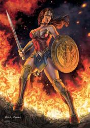 Wonder Woman by caiocacau