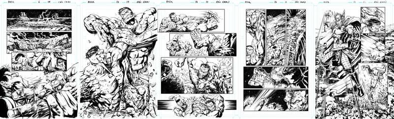 Hulk Sample pages