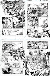 Superman Sample pages