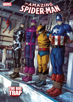 Non-Official Spider-Man Cover