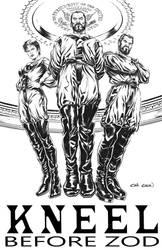 General Zod, Ursa and Non