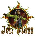 Bob Marley in the golden sun