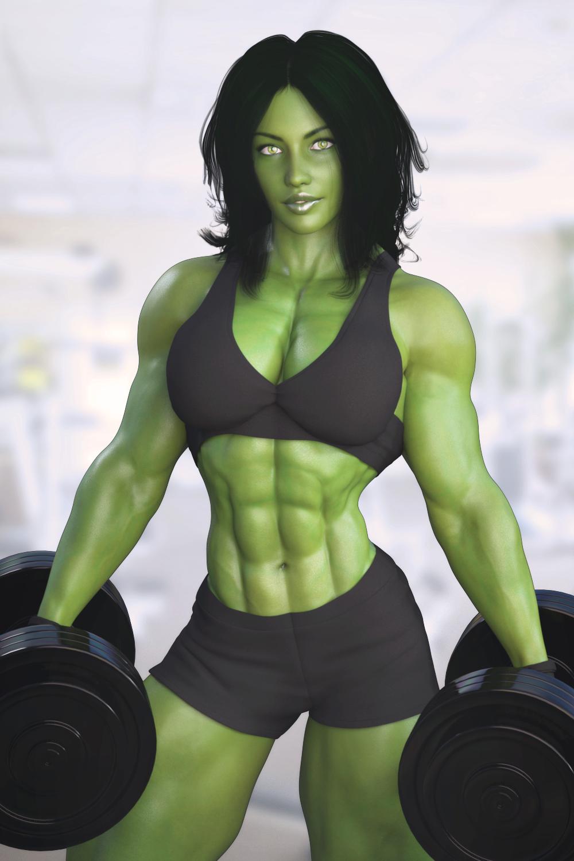 She hulk parody