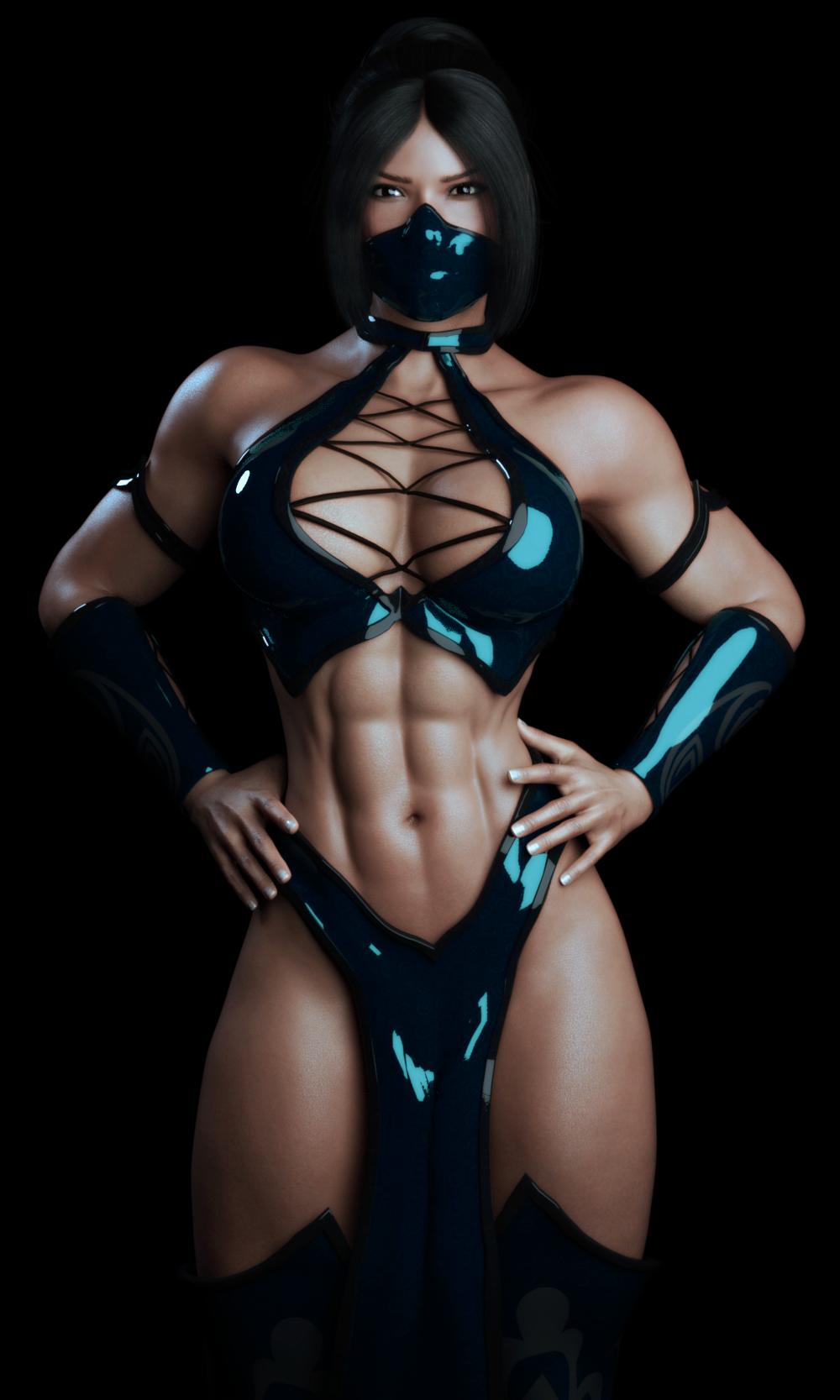 Kitana Nude Mortal Kombat