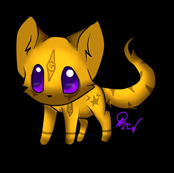 My Warrior Cat - Chibi Cloestar by Celestia-Cadence on ...  Warrior Cat Chibi