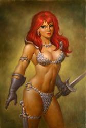 Red Sonja by PaulAbrams