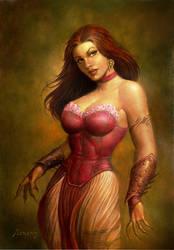 Sorceress by PaulAbrams