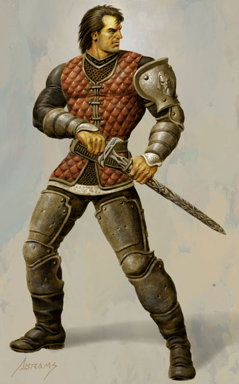 Swordsman by PaulAbrams