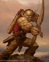 Goblin Archer by PaulAbrams