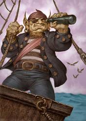 Pirate Troll by PaulAbrams