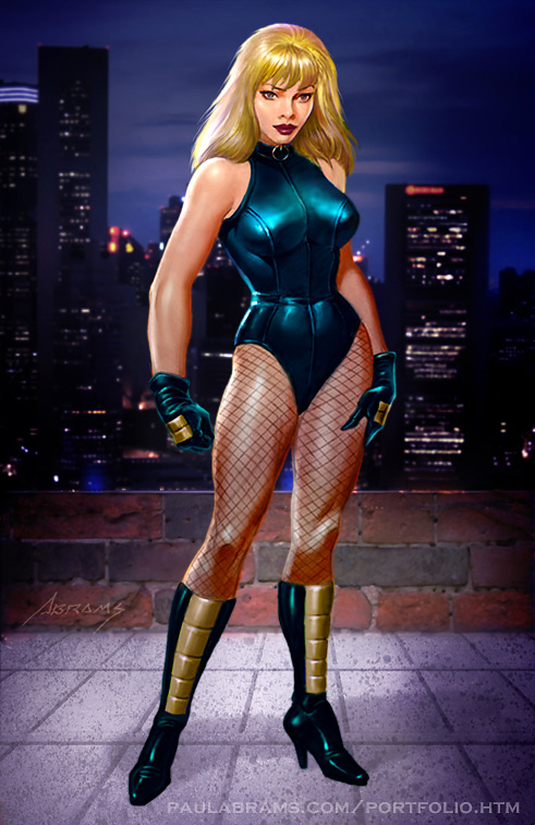 Black Canary Commission by PaulAbrams