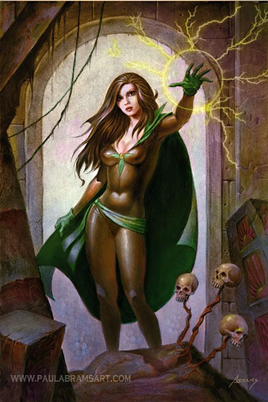 Lady Arcane by PaulAbrams
