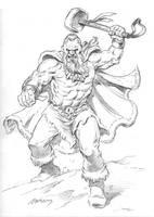 beserker sketch by PaulAbrams